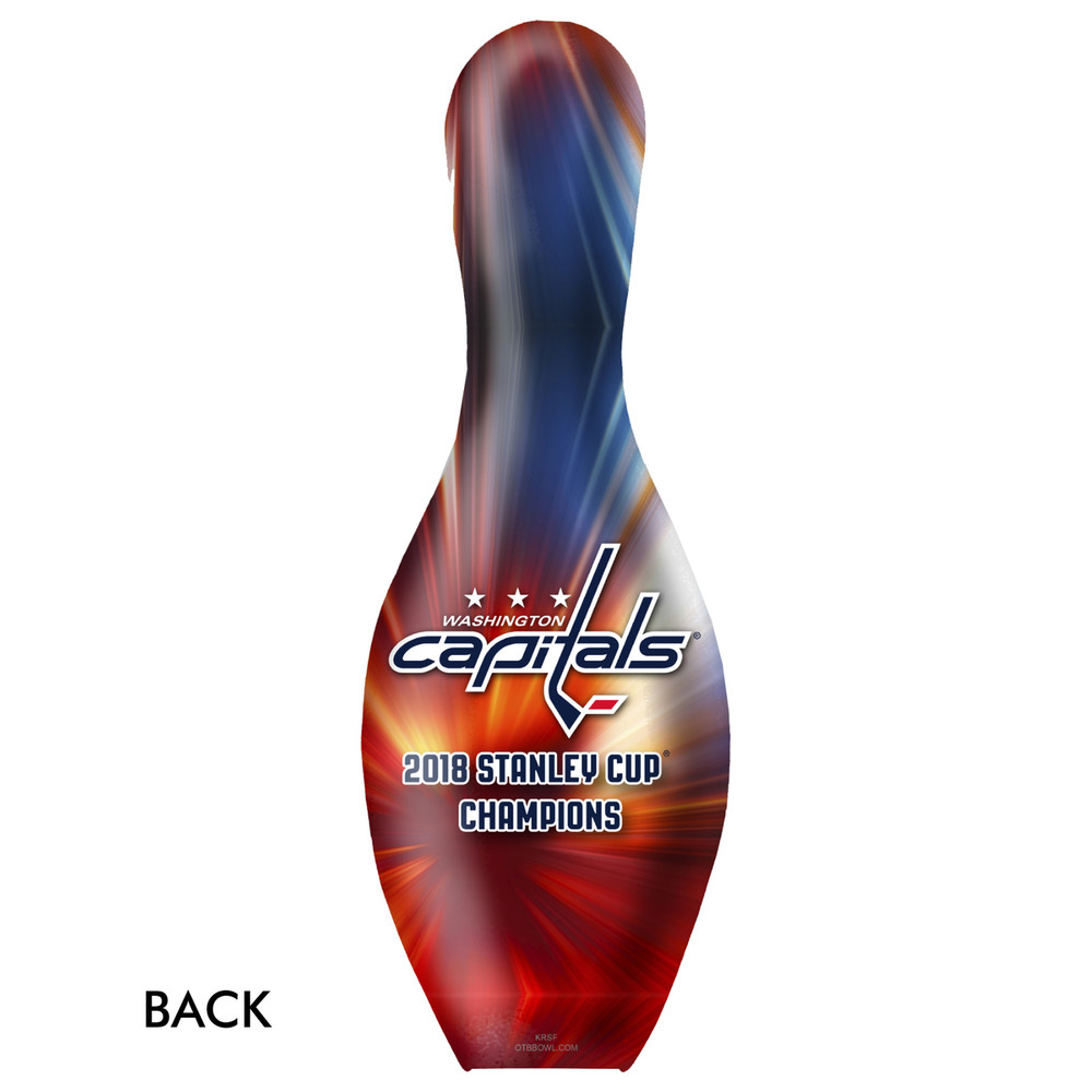 OTB NHL Washington Capitals 2018 Stanley Cup Championship Bowling Pin