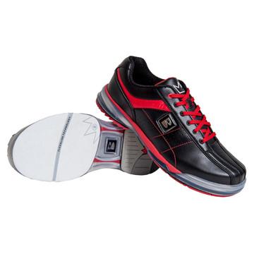 Brunswick TPU X Mens Bowling Shoes Black Red Right Hand