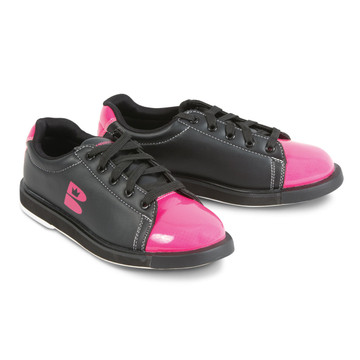 Brunswick TZone Women's Bowling Shoes Black Pink