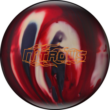 Columbia 300 Nitrous Bowling Ball Red Smoke White
