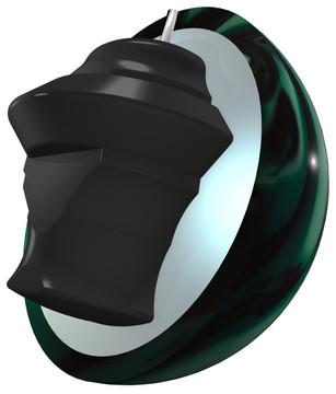 Kinetic Emerald core view