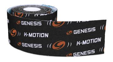Genesis K-Motion Tape Black Roll