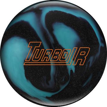 Ebonite Turbo/R Bowling Ball Black Sparkle Aqua