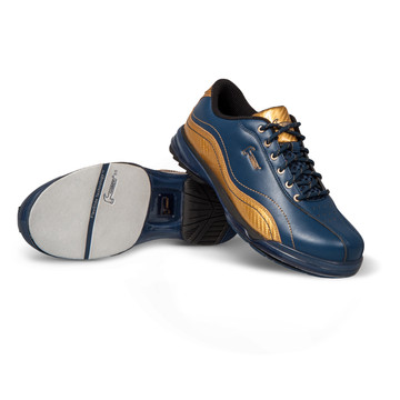 Hammer Force Mens Performance Bowling Shoes LE Admiral- Navy/Gold Right Hand