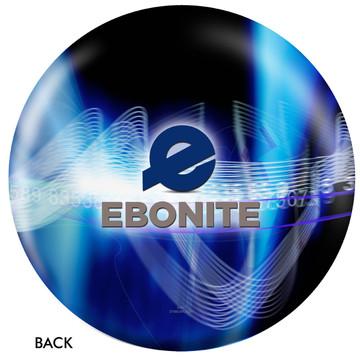 Ebonite Logo Ball Back View