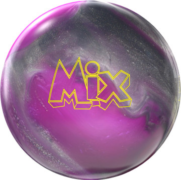 Storm Mix Pearl Bowling Ball Purple Silver
