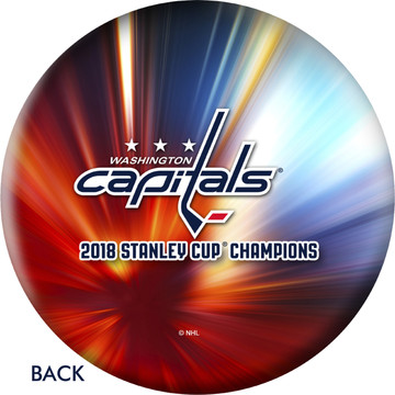 OTB NHL Washington Capitals 2018 Stanley Cup Championship Bowling Ball