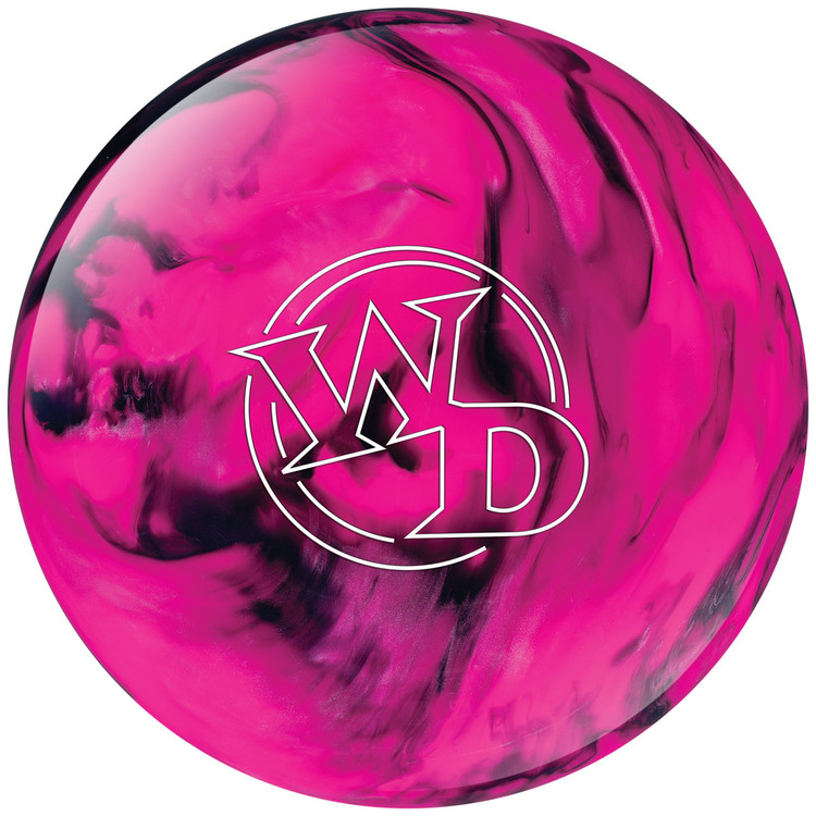 Columbia 300 White Dot Pink Black Bowling Ball