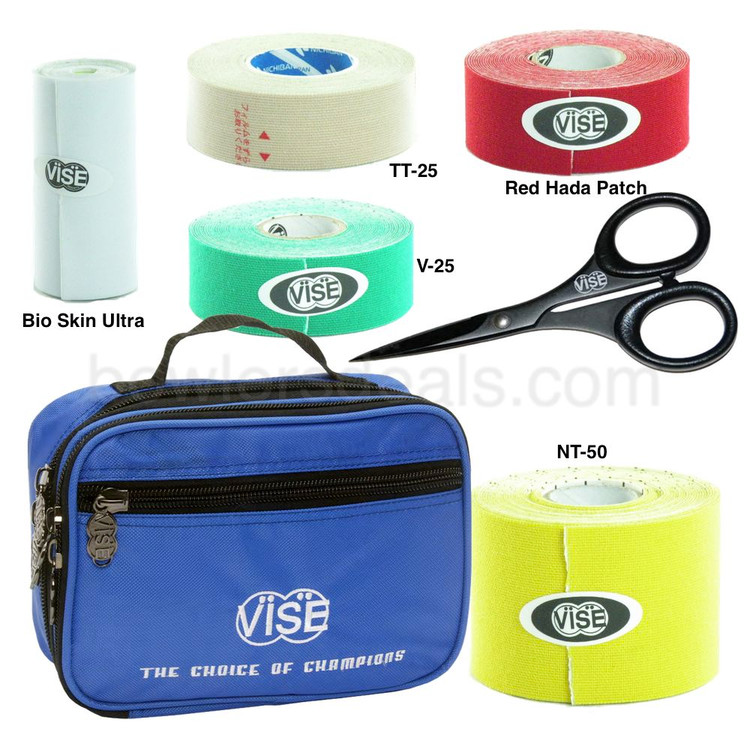Vise Protection Tape Package with Bowling Accessory Bag