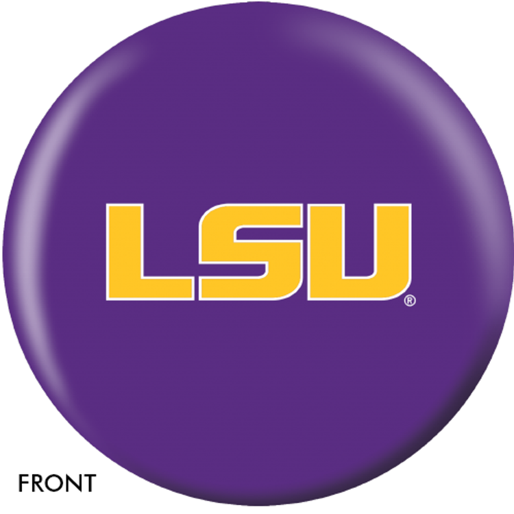 OTB NCAA LSU Tigers Bowling Ball