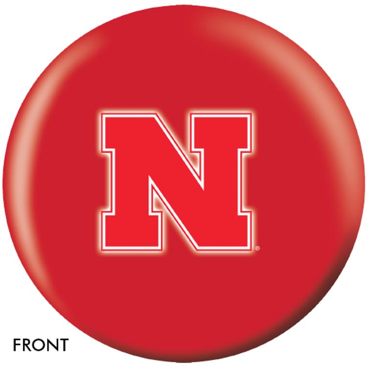 OTB NCAA Nebraska Cornhuskers Bowling Ball