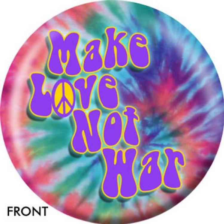 OTB Make Love Not War Bowling ball
