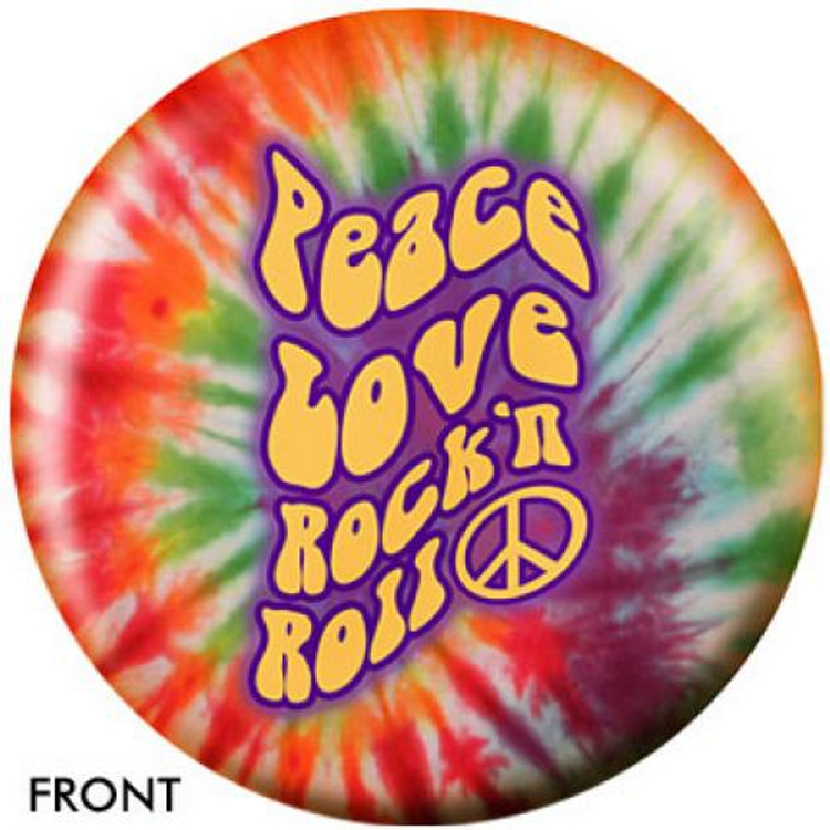 OTB Peace, Love, Rock and Roll Bowling ball