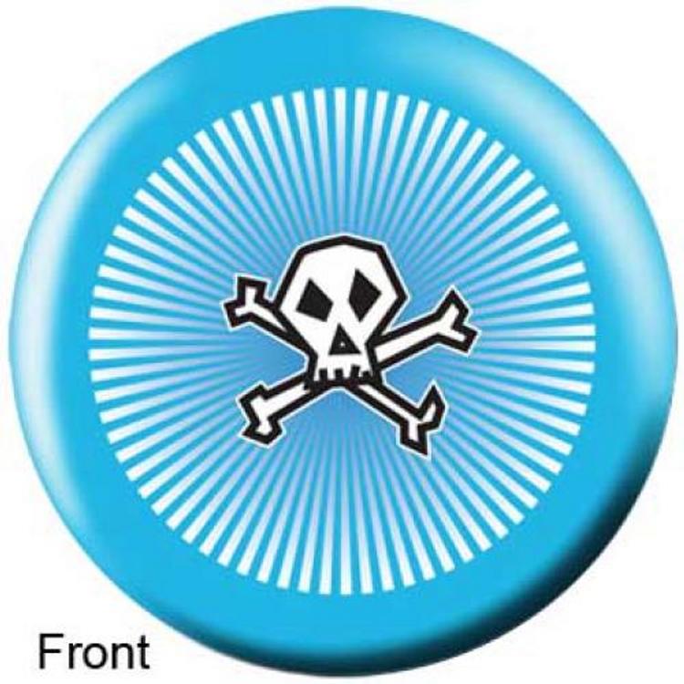 OTB Baby Blue Punk Bowling ball