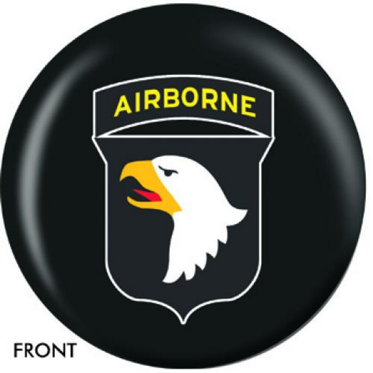 OTB 101st Airborne Bowling ball