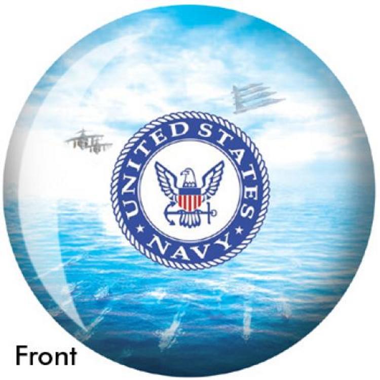 OTB Navy Bowling ball