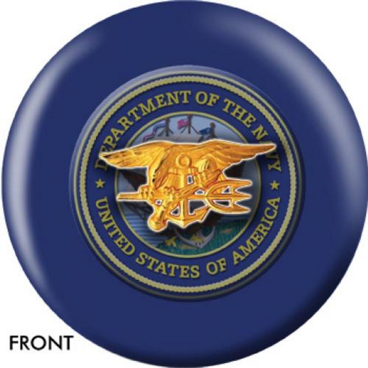 OTB Navy Seals Bowling ball