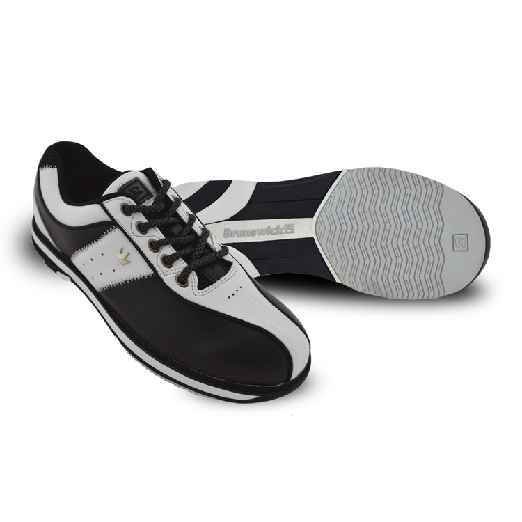 Brunswick Charm Bowling Shoes White Black