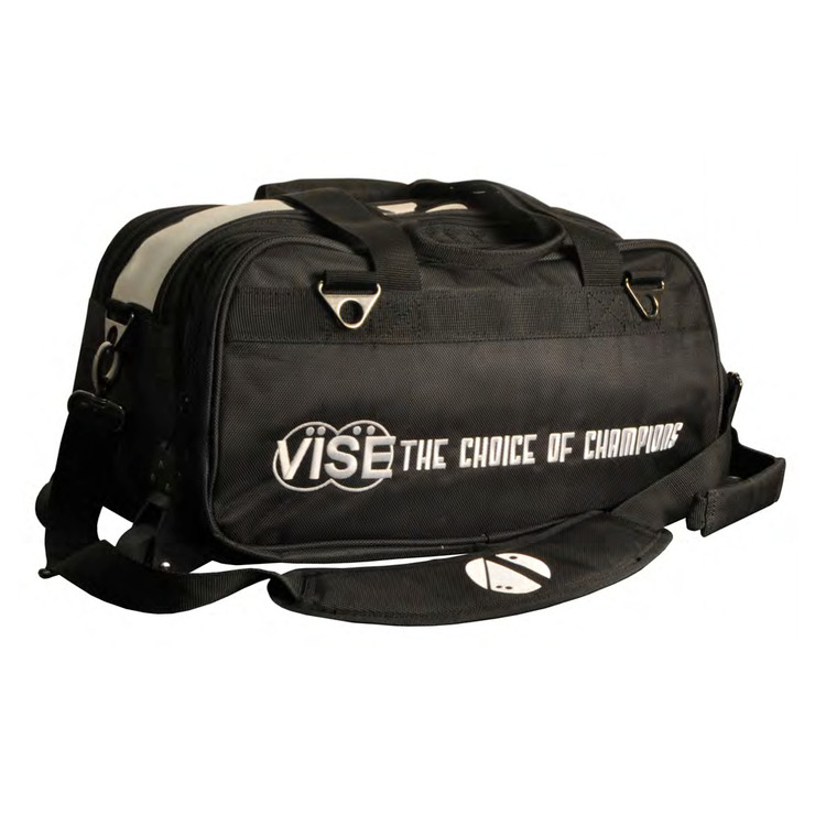 Vise 2 Ball Clear Top Tote Roller