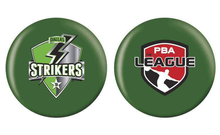 OTB PBA League Bowling Ball Dallas Strikers