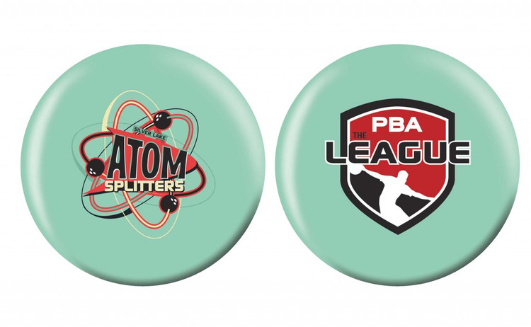 OTB PBA League Bowling Ball Silver Lake Atom Splitters