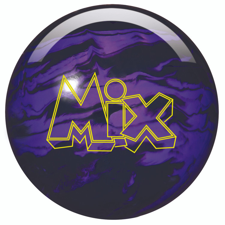 Storm Mix Pearl Bowling Ball Black Purple