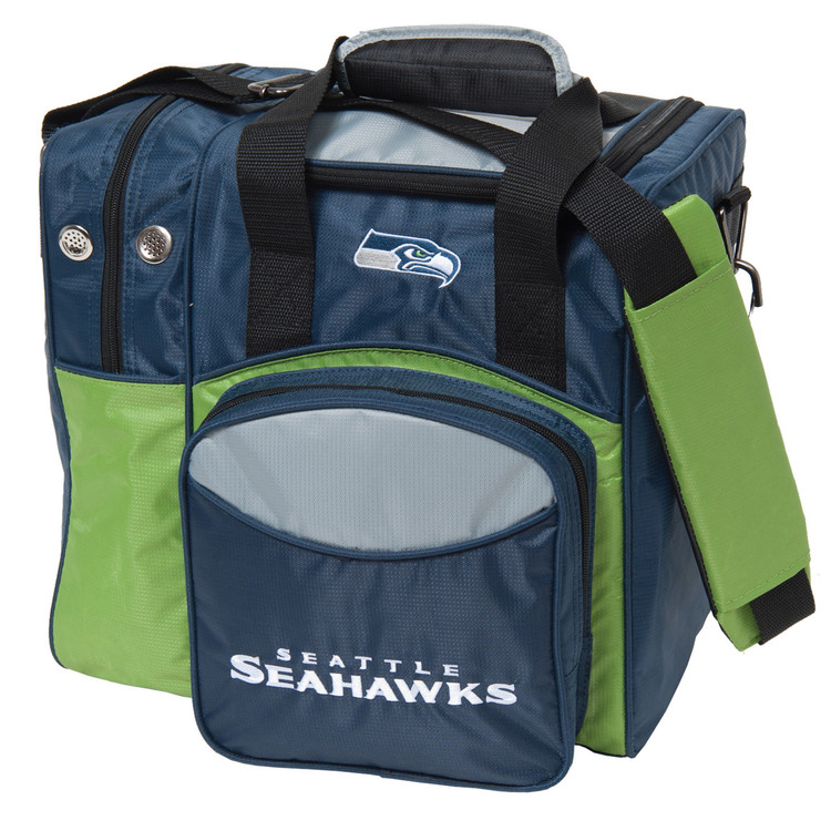 NFL 1 Ball Single Tote Bowling Bag Seattle Seahawks