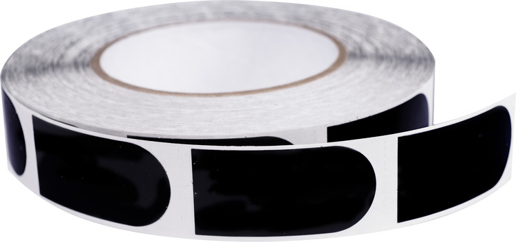 "Powerhouse 1"" Black Bowler's Tape 500 Roll"