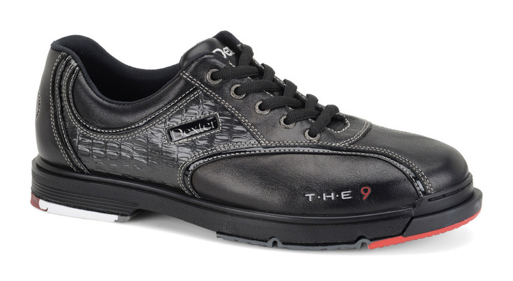 Dexter T.H.E. 9 Mens Bowling Shoes Black side view