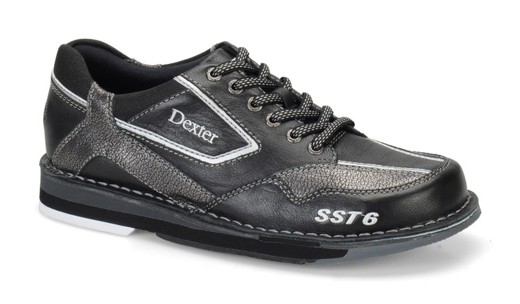 Dexter SST 6 LZ Mens Bowling Shoes Left Hand Black Alloy side view