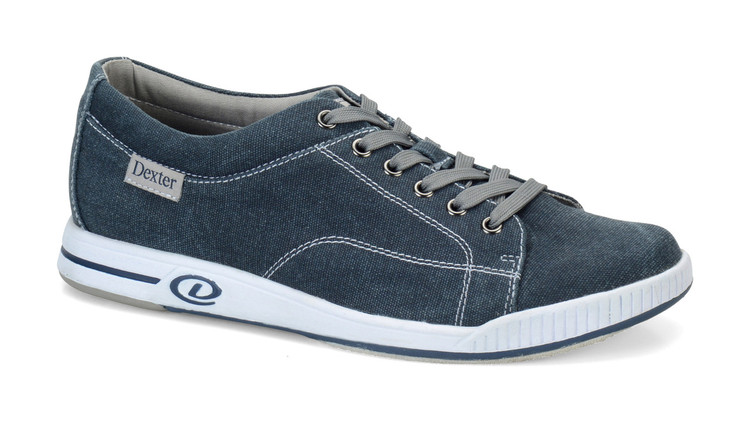 Dexter Kameron Comfort Canvas Mens Bowling Shoes side view
