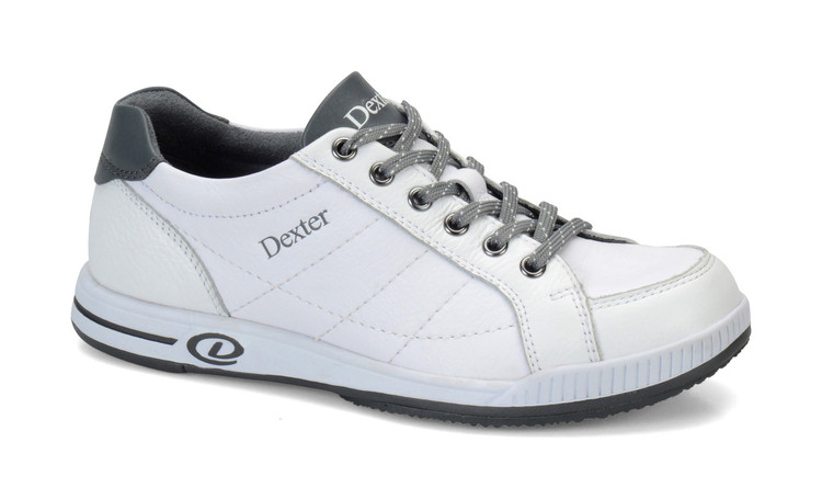 Dexter Deanna Casual Comfort Womens Bowling Shoes Right Hand White side view
