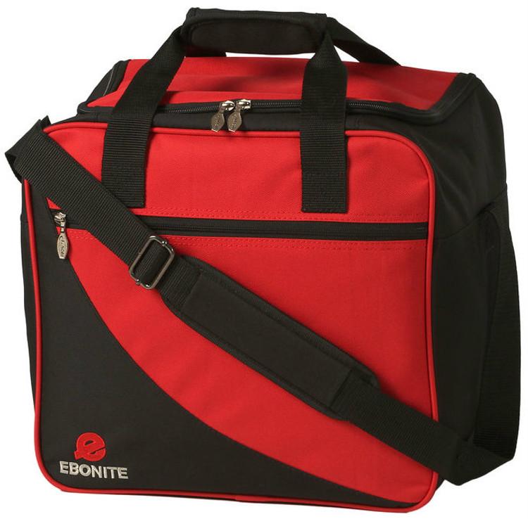 Ebonite Basic Single Tote Bowling Bag Red