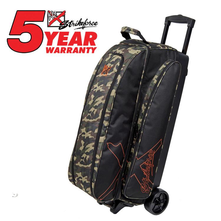 KR Hybrid X 3 Ball Roller Bowling Bag Camo
