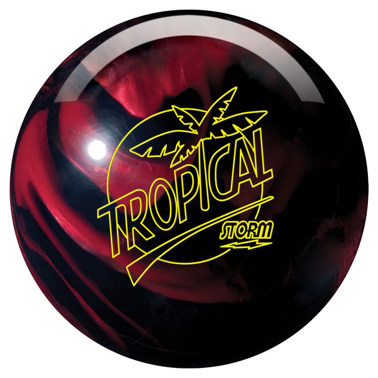 Storm Tropical Storm Black Cherry Bowling Ball