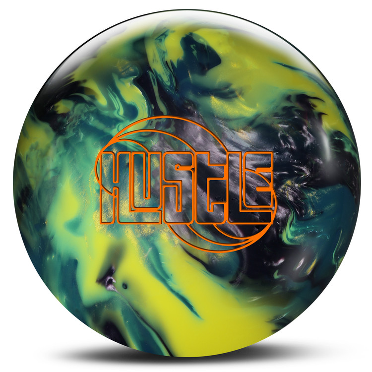 Roto Grip Hustle Bowling Ball Silver Aqua Yellow