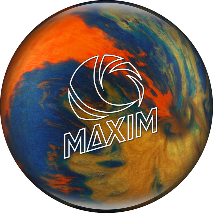 Ebonite Maxim Bowling Ball Captain Galaxy