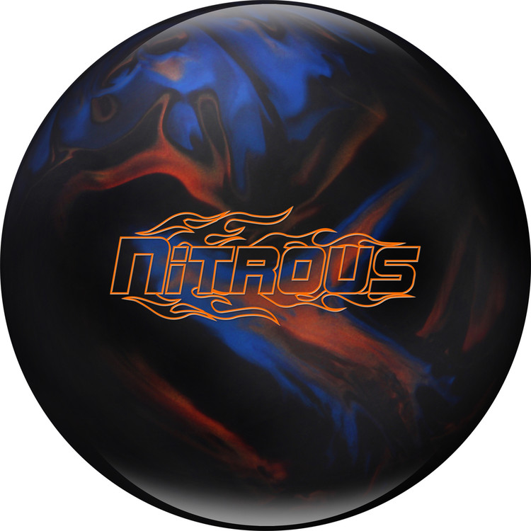 Columbia 300 Nitrous Bowling Ball Black Blue Bronze