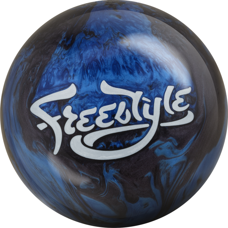Motiv Freestyle Bowling Ball Black Blue