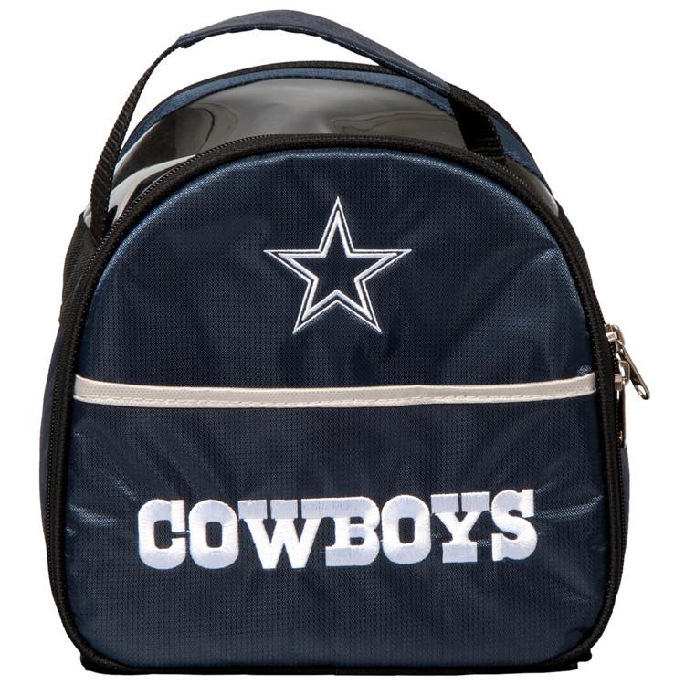 NFL Add On 1 Ball Single Tote Bowling Bag Dallas Cowboys