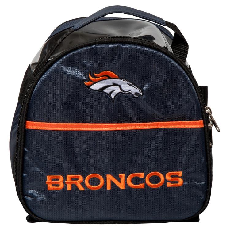 NFL Add On 1 Ball Single Tote Bowling Bag Denver Broncos