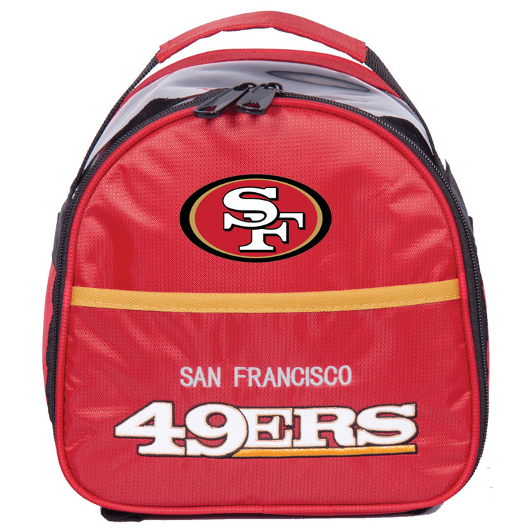 NFL Add On 1 Ball Single Tote Bowling Bag San Francisco 49ers