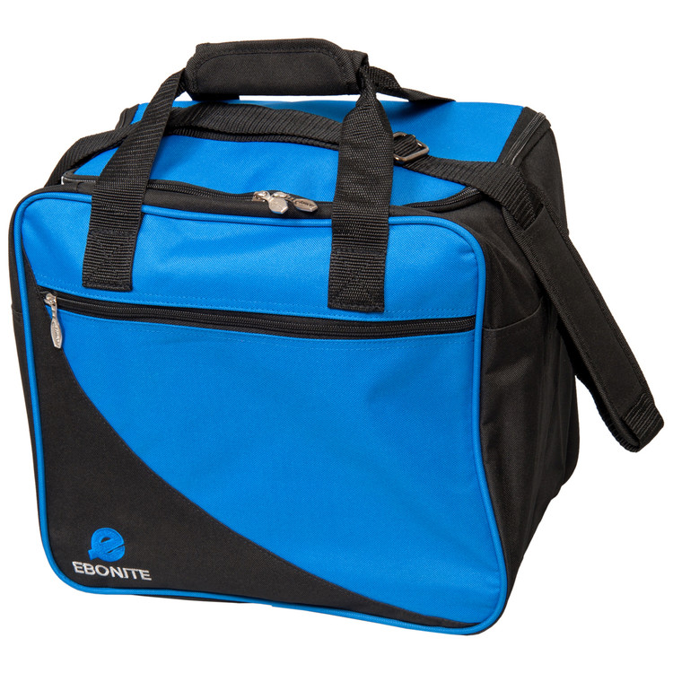 Ebonite Basic Single Tote Bowling Bag Blue