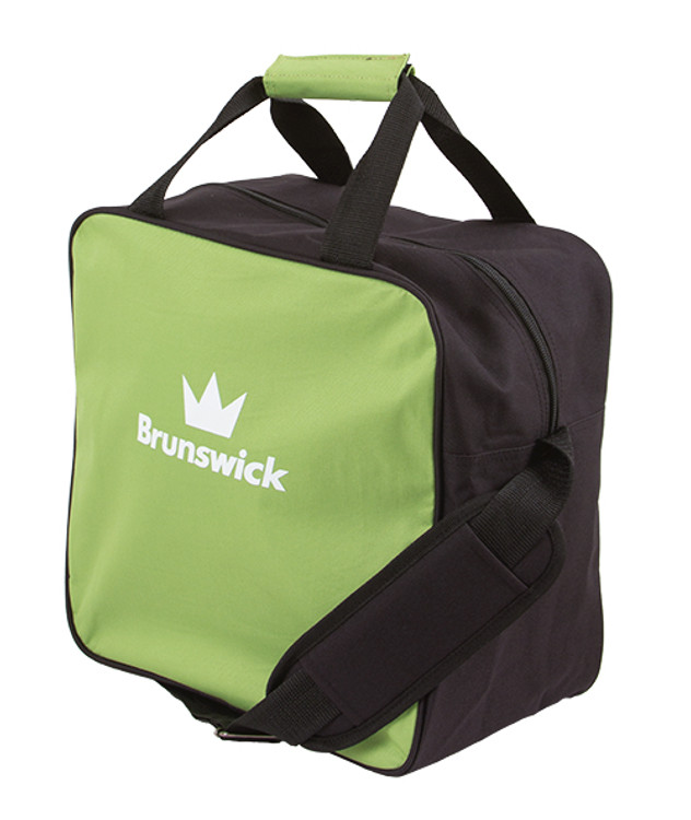 Brunswick TZone 1 Ball Single Tote Bowling Bag Lime