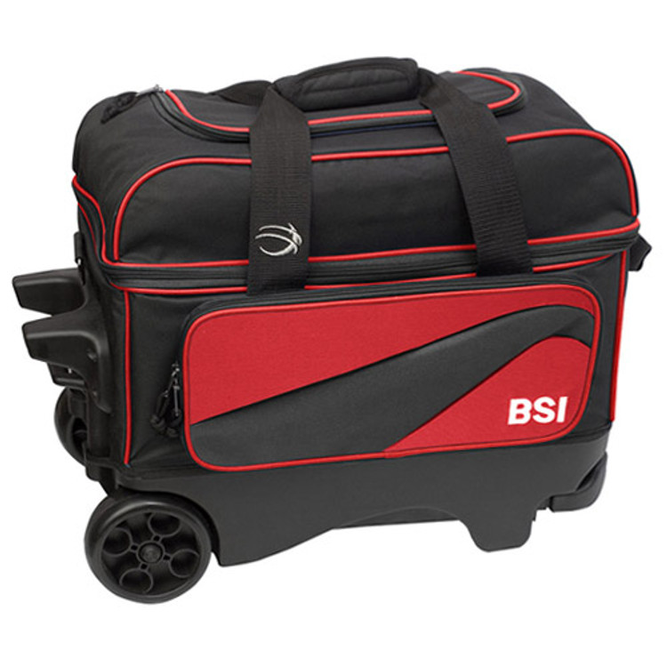 BSI Large Wheels Double Roller Red Front View
