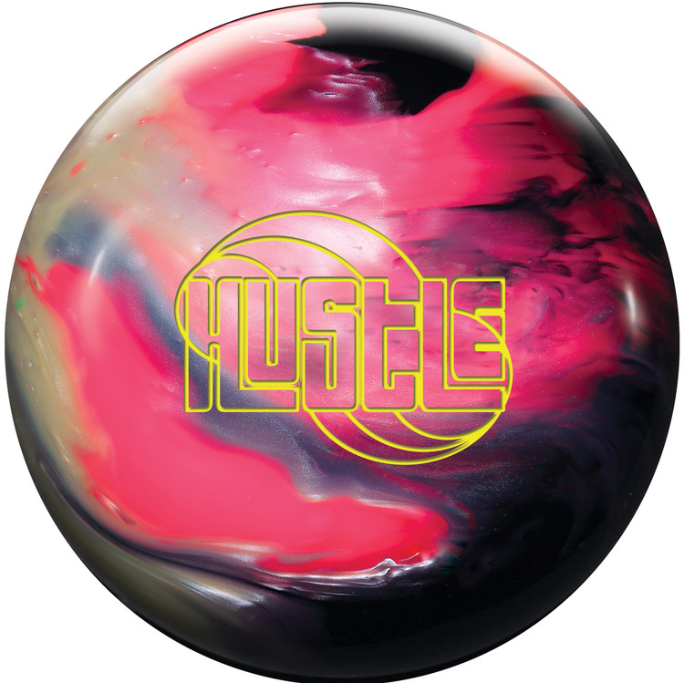 Roto Grip Hustle Bowling Ball Pink Oynx White