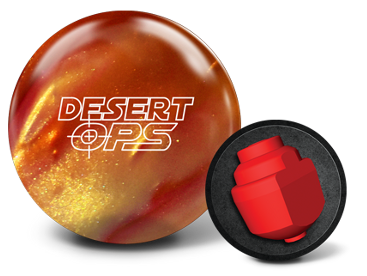900 Global Desert Ops Bowling Ball