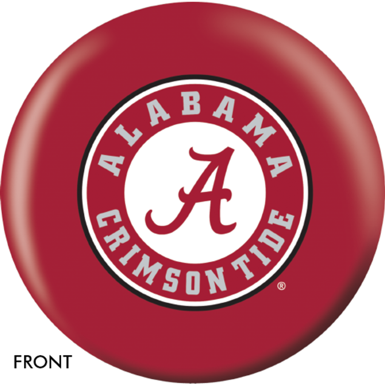 OTB NCAA Alabama Crimson Tide Bowling Ball
