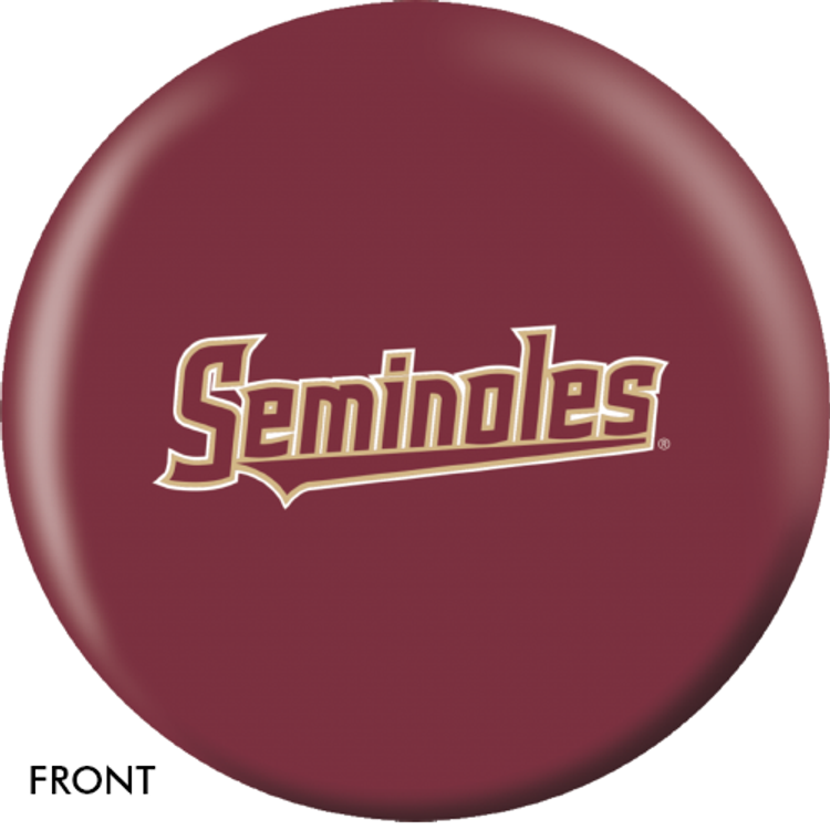 OTB NCAA Florida State University Bowling Ball