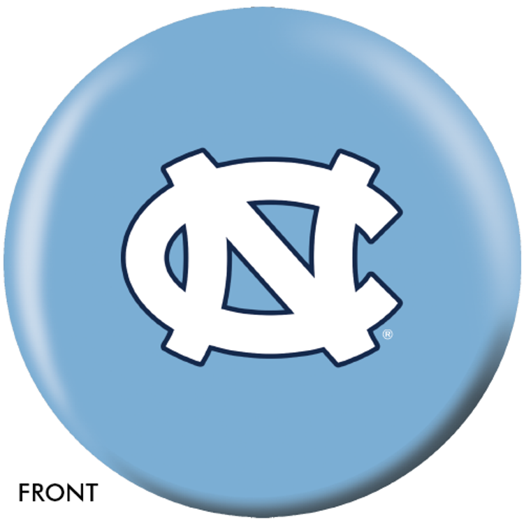 OTB NCAA North Carolina Tar Heels Bowling Ball